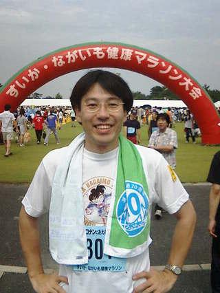 第21回 北栄町すいか・ながいも健康マラソン大会 記念写真