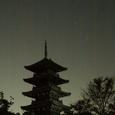 備中国分寺五重塔の夜景