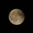 満月(21時38分撮影)